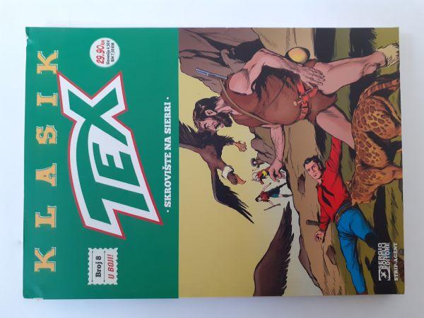 Tex Klasik 8:Skrovište na Sierri